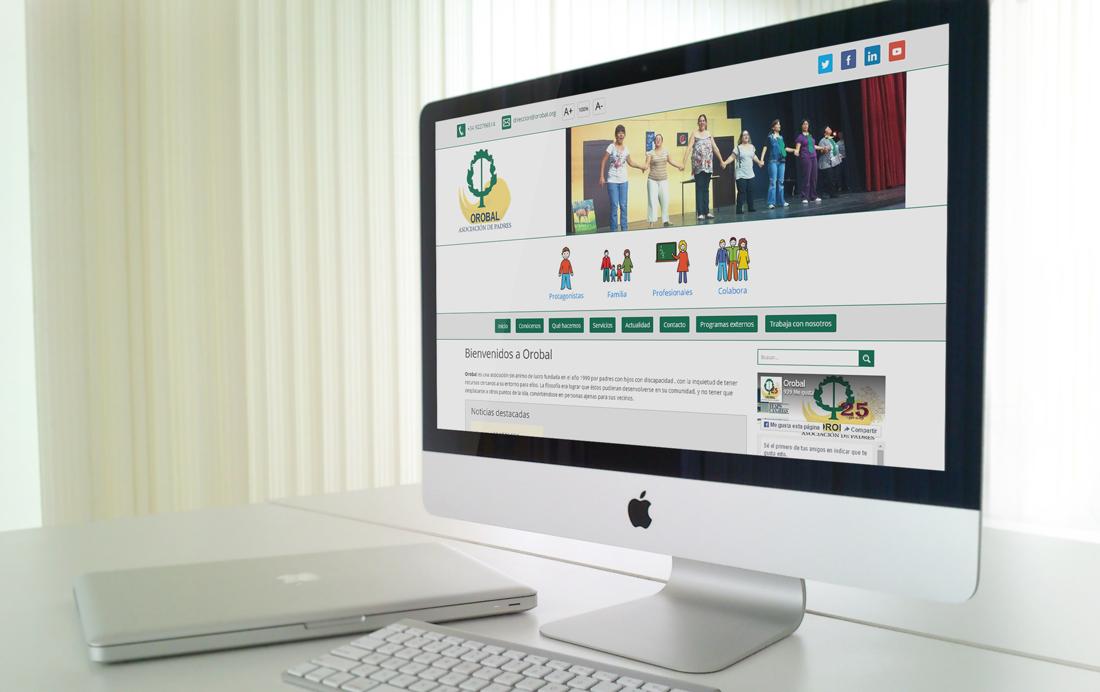 Asociación OROBAL nueva web